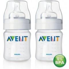 Láhev bez BPA 125ml 2 ks Avent
