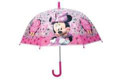 Deštník Minnie manuální průhledný