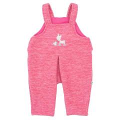 Kalhoty s laclem fleece Koloušek Baby Service Růžová