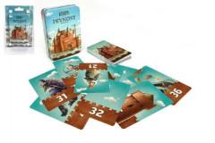 Pevnost Fort karetní společenská hra v plechové krabičce 6+