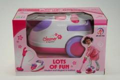 Dětský vysavač růžovo-bílý