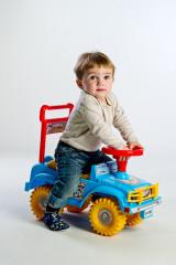 Odrážedlo auto Jeep Yupee modré