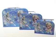 Sada 3 kufříků Frozen