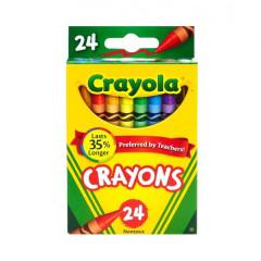 Pestré voskovky 24ks Crayola
