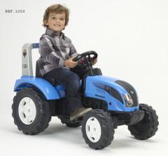 Traktor šlapací Landini Power Mondial 115 modrý