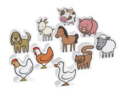 Zvířata - Pěnová stavebnice Millaminis