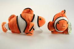Plyšová rybička klaun očkatý 16 cm