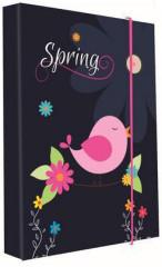 Desky na sešity Heft box A5 Premium Spring