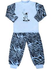 Dětské bavlněné pyžamo New Baby Zebra s balónkem modré Vel. 128