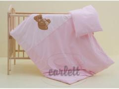 Dětské povlečení 2dílné Béďa 135 x 100 cm - růžové