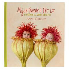 Kniha Mých Prvních Pět Let - Vlčí máky Anne Geddes