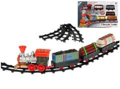 Vláček s vagóny 46cm + dráha 62cm na baterie