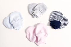 Rukavičky bavlněné pro novorozence MKcool