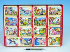 Minipuzzle Pohádky 54 dílků