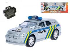 Auto RC Policie 20cm bez zvuku