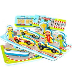 Meadow Puzzle do vany Automobilový závod