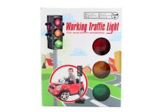 Světelný semafor na baterie