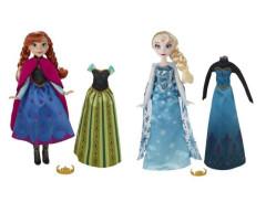 Frozen panenka s náhradními šaty