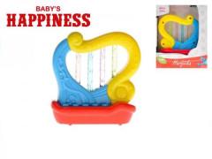 Harfička se zvukem a světlem Baby´s Happiness 18m+