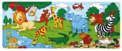 Deskové puzzle ZOO 21 dílků