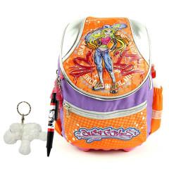 Školní batoh Cool set - 3dílná sada - JustGirls skateboard