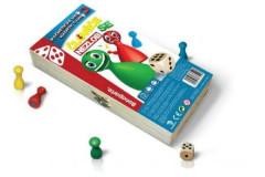 Člověče nezlob se magnetické - dřevěná společenská hra