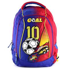 Batoh Goal - Modro-červený - chlapecký