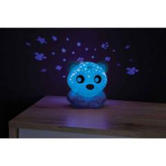 Usínací lampička medvídek s projektorem Playgro - zelená