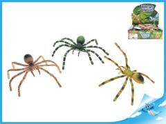 Pavouk ohebné nohy 7x16cm