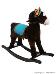 Houpací koník BAYO Mohawk hnědý