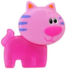 Chladící kousátko Baby Mix Kočička růžová