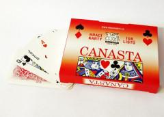 Canasta společenská hra - karty