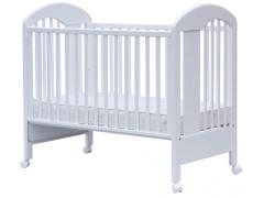 Postýlka s odnímatelným bokem - Scarlett Jarda - Bílá - 120 x 60 cm