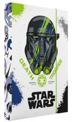 Desky na sešity Heft box A4 Star Wars NEW 2017