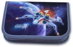 Školní pouzdro 1-klopa plněné Galaxy Emipo