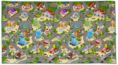 Scarlett dětský kobereček CITY & MAPA - 120 x 200 cm