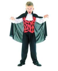 Karnevalový kostým - Upír 120-130 cm