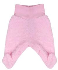 Fleecové polodupačky Baby Service Pinguin růžové vel. 56 2. JAKOST ŠPINAVÉ