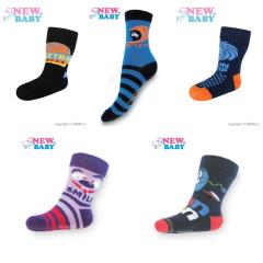 Dětské bavlněné ponožky New Baby Vel. 104 (3-4 r)
