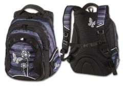 Studentský batoh Paradise fialová Walker