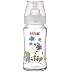 Kojenecká láhev skleněná se širokým hrdlem 240 ml Farlin