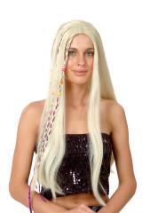 Paruka blond - dlouhé vlasy
