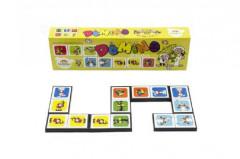 Domino Pojď s námi do pohádky 28ks společenská hra v krabičce