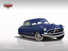 Cars2 auta W1938 Mattel DOC HUDSON