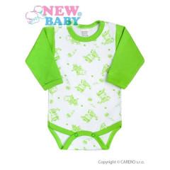 Kojenecké body New Baby Zebrababy II zelené