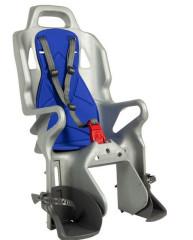 Dětská sedačka ERGON OK Baby zadní pevná Stříbrná
