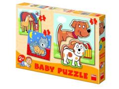 Baby puzzle zvířátka Dino