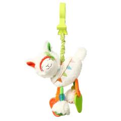 Závěsná vibrační hračka Llama Jane BabyOno