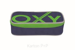 Pouzdro etue komfort OXY BLUE LINE Green