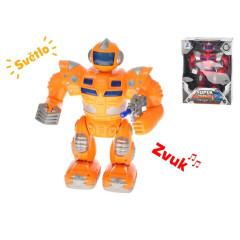 Robot válečník 25 cm